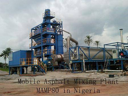 Mobile Asphalt Plant Solution in Nigeria